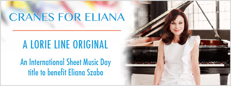 Lorie Line to premiere Cranes for Eliana benefit composition at free EXPO concert