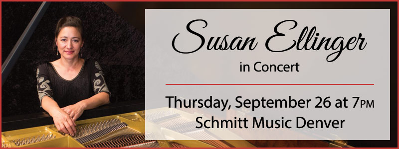 Pianist Susan Ellinger in Concert at Schmitt Music Denver
