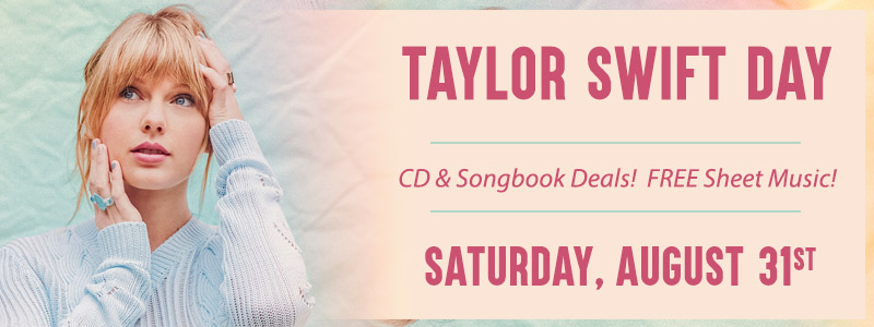 Taylor Swift Day is Saturday, August 31st!