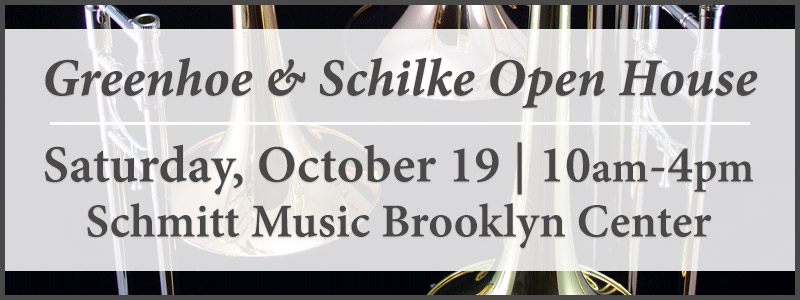 Greenhoe & Schilke Open House at Schmitt Music Brooklyn Center