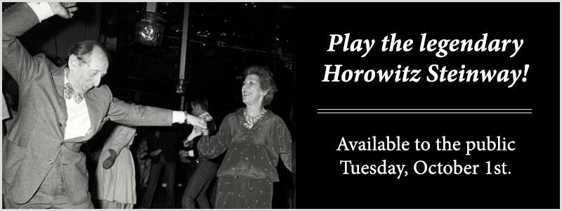 Horowitz 116th Birthday Celebration featuring Steinway CD503 in Kansas City