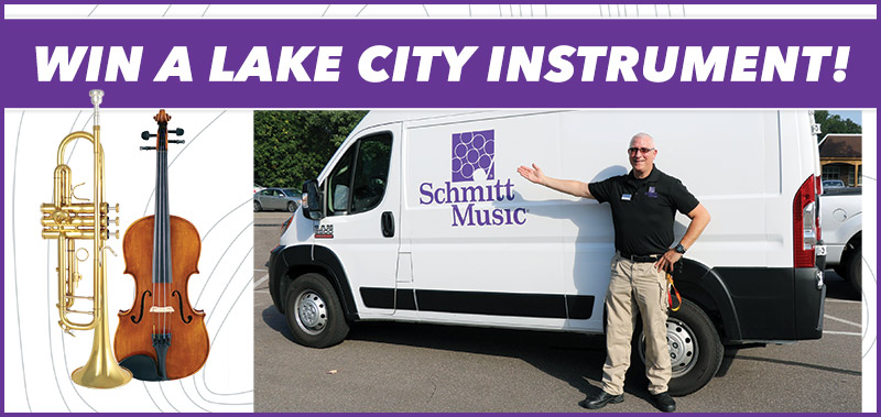 Name Paul Blake's New Ride and Win a New Lake City Instrument!