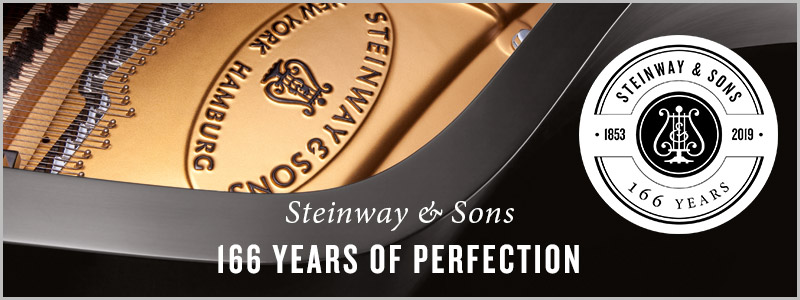 Steinway & Sons: 166 Years of Perfection