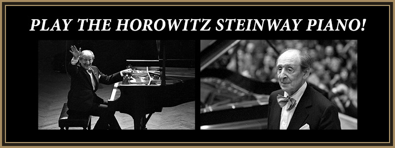 Play the Horowitz Steinway Piano in the Twin Cities