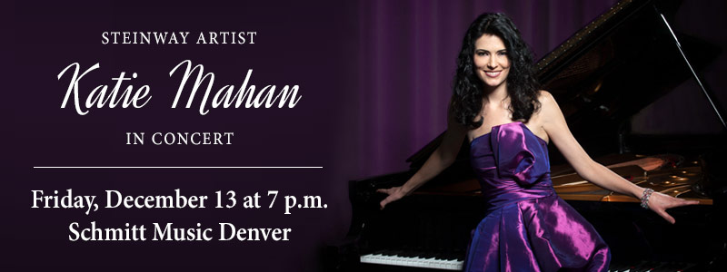 SOLD OUT: Steinway Artist Katie Mahan in Concert at Schmitt Music Denver