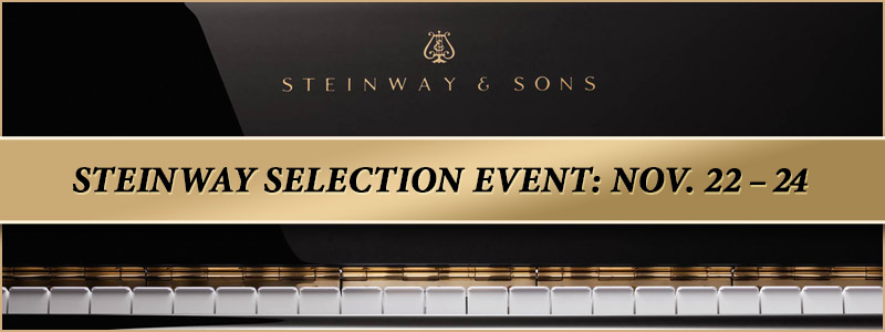 Steinway Factory-Authorized Selection Event in Overland Park