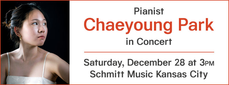 Pianist Chaeyoung Park in Concert at Schmitt Music Kansas City