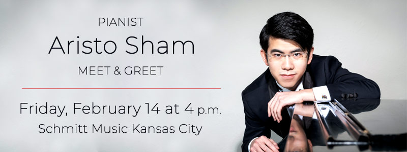 Pianist Aristo Sham Meet & Greet at Schmitt Music Kansas City