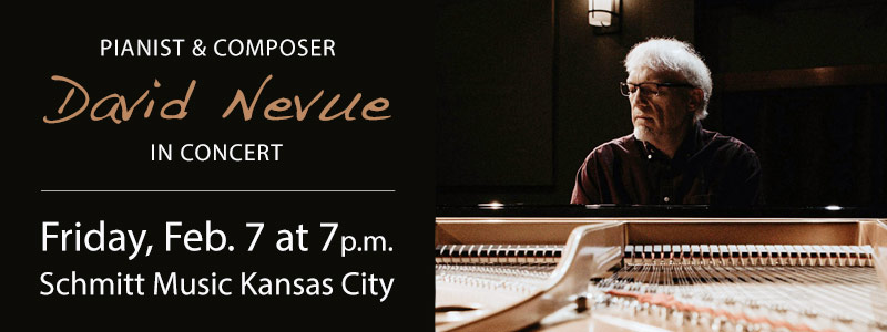 David Nevue in Concert at Schmitt Music Kansas City