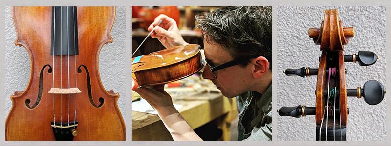 Violin Shop Luthier, Peter Bingen