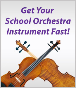 Get your School Orchestra Instrument Fast!