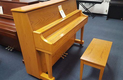 Boston 118S Light Oak Upright piano