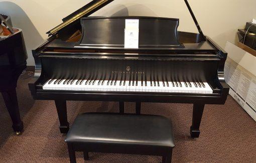 Steinway L Ebony Satin Grand Piano