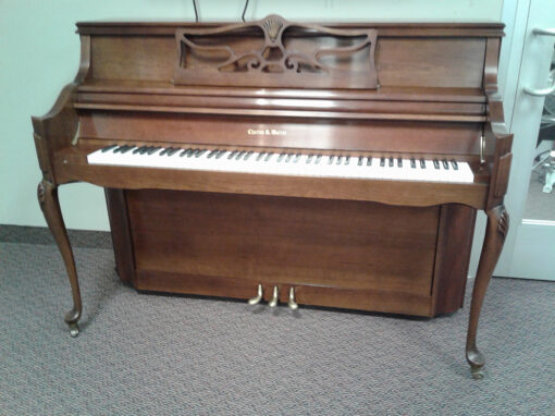 Used Charles Walter Console Piano
