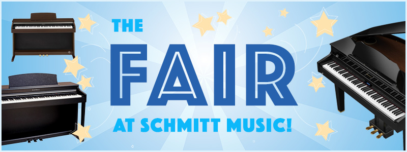 State Fair Piano Savings Extended – Digitals, Hybrids, Player Pianos and more!