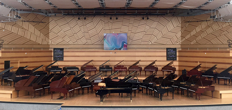 Aspen Music Festival Piano Sale Coming in August!