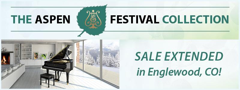 Extended: Aspen Music Festival Piano Sale in Denver