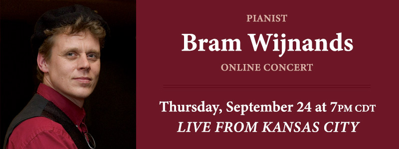 Pianist Bram Wijnands LIVE from Schmitt Music Kansas City