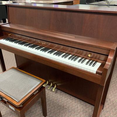"""Used Kawai 506N 44.5"""" Mahogany Satin Upright Piano"""