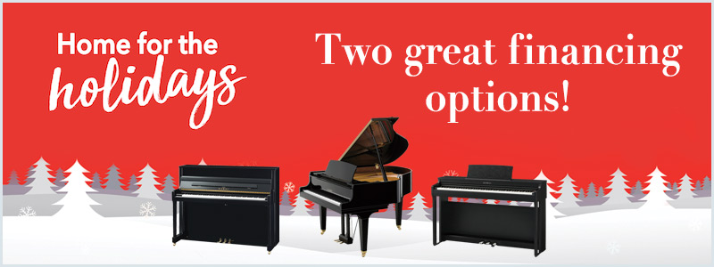Kawai Holiday Piano Offer: Two Great Financing Options!