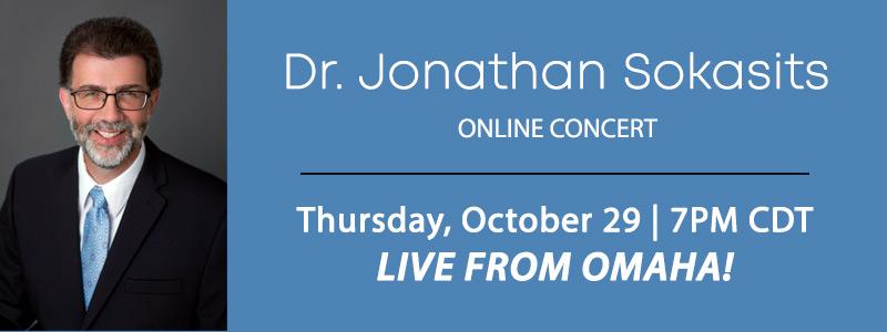 Pianist Dr. Jonathan Sokasits LIVE from Schmitt Music Omaha