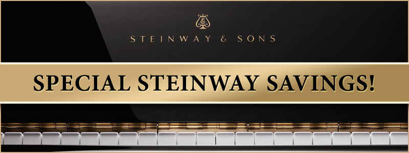 Steinway Factory-Authorized Savings Event