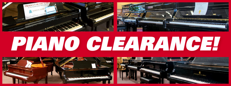 Piano Clearance: Fiscal Year-End Savings, Financing and more!