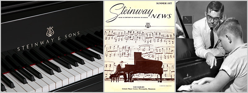 Proudly Representing Steinway & Sons Pianos for 60 Years!
