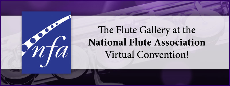 Join The Flute Gallery at the National Flute Association's Virtual Convention